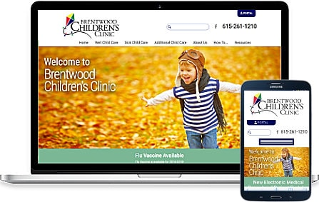 Brentwood Childrens Clinic New Custom Site